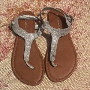 Gray Rampage Sandals